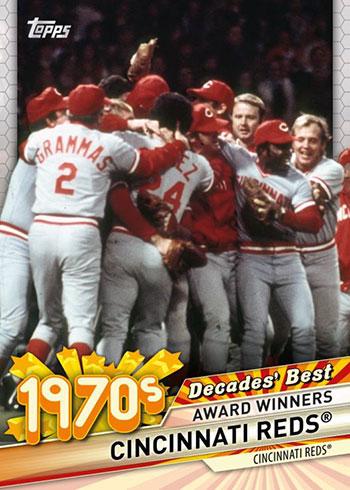 2020 Topps Update Series Baseball Decade's Best