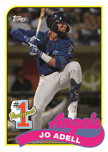2020 Topps Update Series Baseball Prospect Jo Adell