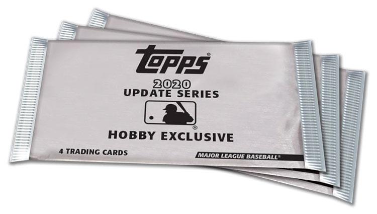2020 Topps Update Series Baseball Silver Packs