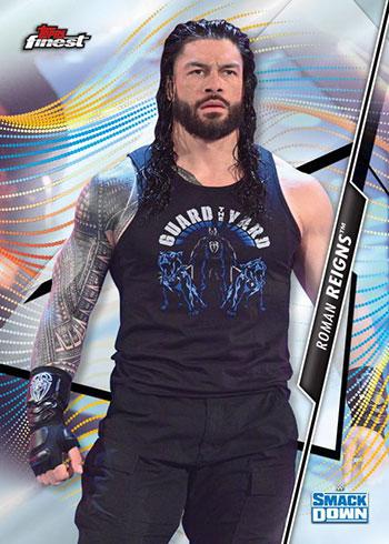 2020 Topps WWE Finest Roman Reigns