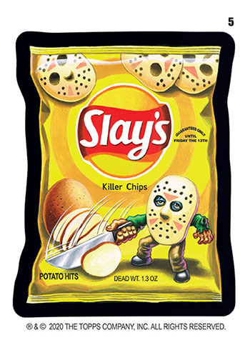 2020 Topps Wacky Packages All-New Series 5 Slay's