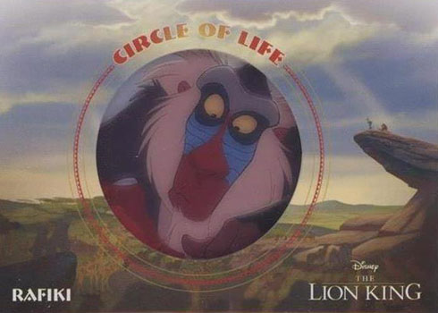 2020 Upper Deck Lion King Circle of Life