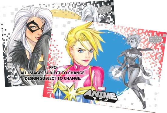 2020 Upper Deck Marvel Anime Base