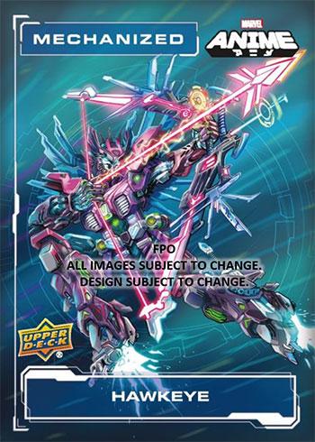 2020 Upper Deck Marvel Anime Mech