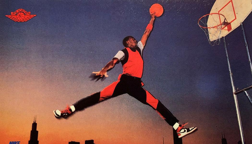 Nike Michael Jordan Cards Chronicle Air