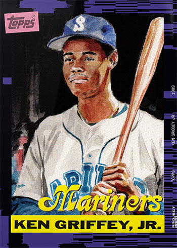 Topps Project 2020 66 Ken Griffey Jr by Jacob Rochester