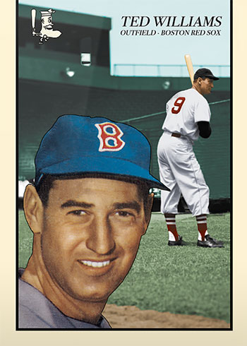Topps Project 2020 90 Ted Williams