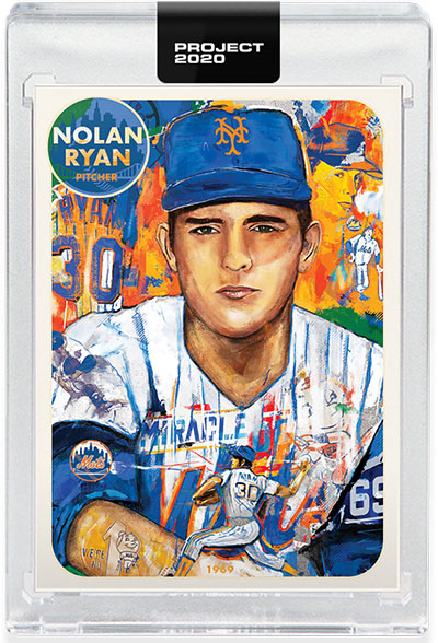 Topps Project 2020 Nolan Ryan by Andrew Thiele