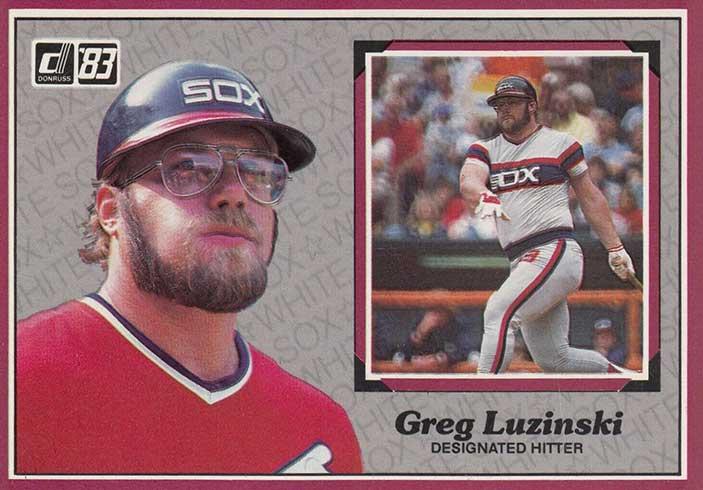 1983 Donruss Action All-Stars Greg Luzinski