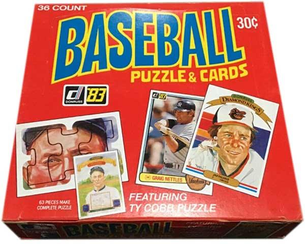 1983 Donruss Baseball Box