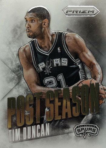 2013-14 Panini Prizm Basketball Post Season Tim Duncan