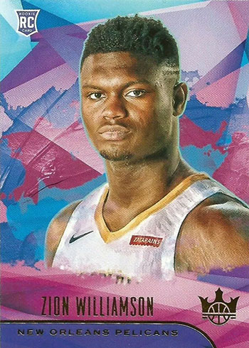 2019-20 Court Kings Zion Williamson Rookie Card