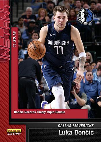 2019-20 Panini Instant Basketball 38 Luka Doncic