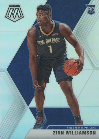 2019-20 Panini Mosaic Basketball Silver Zion Williamson