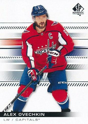 2019-20 SP Authentic Hockey Alex Ovechkin