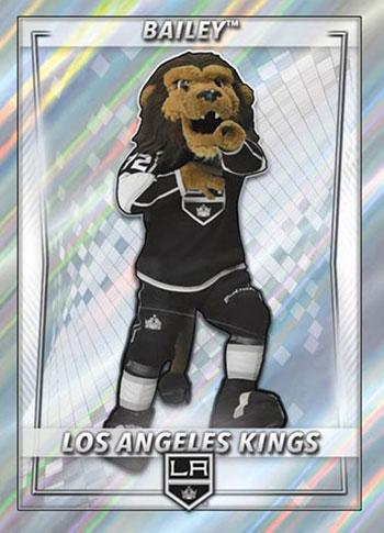 2020-21 Topps NHL Sticker Collection Bailey Pillar Foil