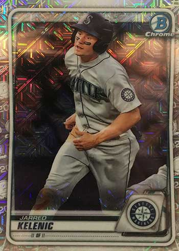 2020 Bowman Chrome Mega Box Baseball Variations Jarred Kelenic