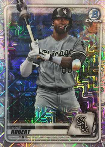 2020 Bowman Chrome Mega Box Baseball Variations Luis Robert
