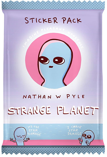 2020 Culture Fly Strange Planet Card Pack