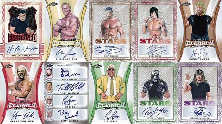 2020 Leaf Ultimate Wrestling Autographs