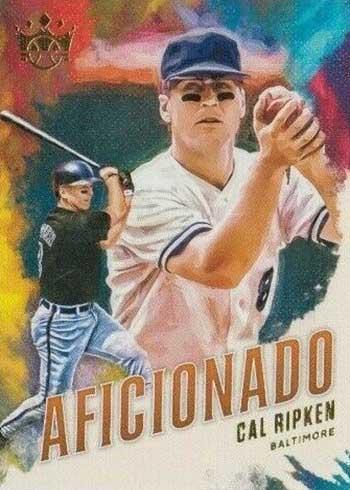 2020 Panini Diamond Kings Baseball Aficionado Cal Rpiken