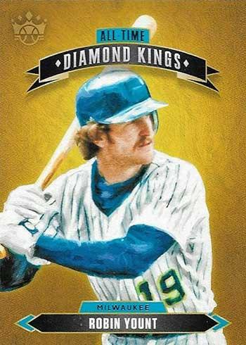 2020 Panini Diamond Kings Baseball All-Time Diamond Kings Robin Yount