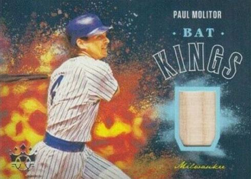 2020 Panini Diamond Kings Baseball Bat Kings Paul Molitor