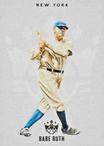 2020 Panini Diamond Kings Baseball Blank Slate Babe Ruth