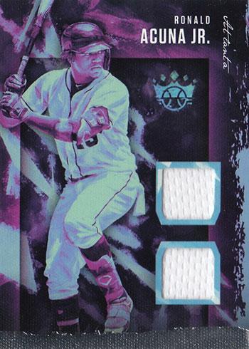 2020 Panini Diamond Kings Baseball DK Materials Ronald Acuna Jr
