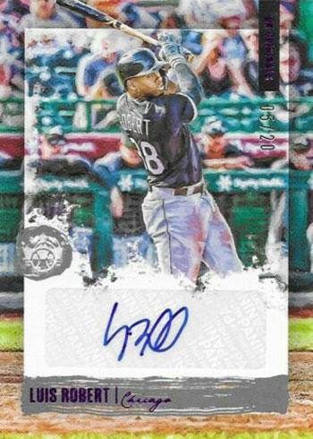2020 Panini Diamond Kings Baseball DK Originals Signatures Luis Robert