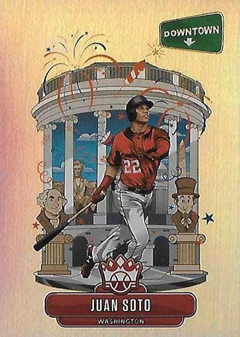 2020 Panini Diamond Kings Baseball Downtown Juan Soto