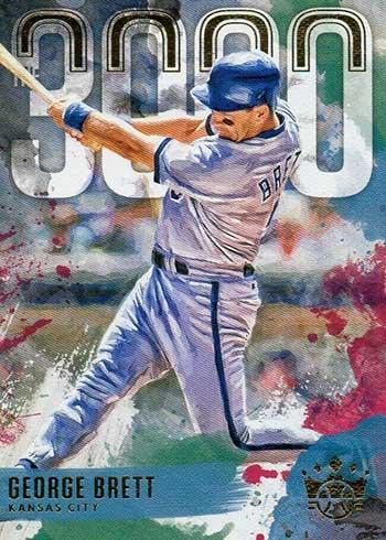 2020 Panini Diamond Kings Baseball The 3000 George Brett