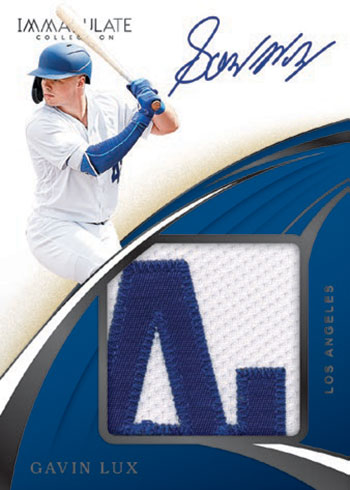 2020 Panini Immaculate Baseball Premium Patch Autographs