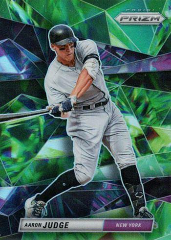 2020 Panini Prizm Baseball Gems Aaron Judge