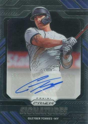 2020 Panini Prizm Baseball Signatures Gleyber Torres