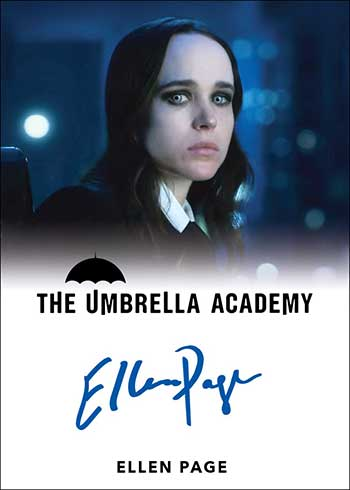 2020 Rittenhouse Umbrella Academy Season 1 Ellen Page Autograph