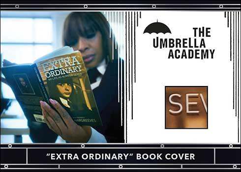 2020 Rittenhouse Umbrella Academy Season 1 Relic Card