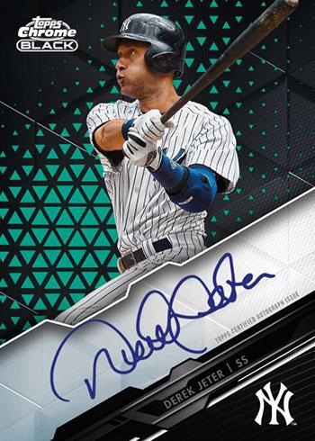 2020 Topps Chrome Black Baseball Autograph