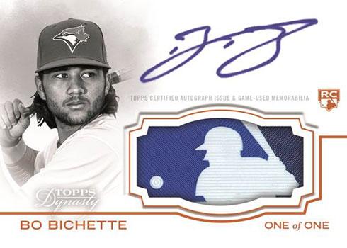 2020 Topps Dynasty Baseball MLB Logo Autograph