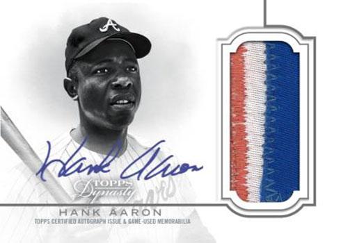 2020 Topps Dynasty Baseball Autograph Patch Silver