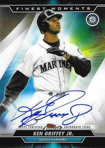 2020 Topps Finest Baseball Finest Moments Autographs Ken Griffey Jr.