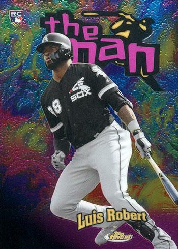 2020 Topps Finest Baseball The Man Luis Robert
