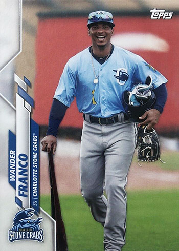 2020 Topps Pro Debut Baseball Variations Wander Franco