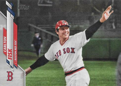 2020 Topps Series 2 Baseball Variations Carlton Fisk