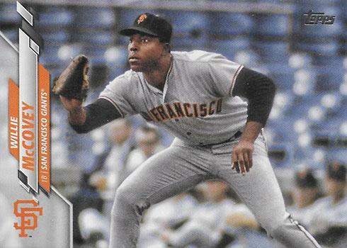 2020 Topps Series 2 Baseball Variations Willie McCovey