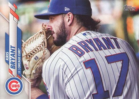 2020 Topps Series 2 Baseball Variations Kris Bryant SSP
