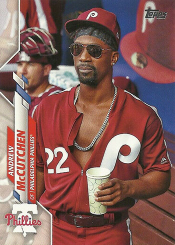 2020 Topps Series 2 Baseball Variations Andrew McCutchen