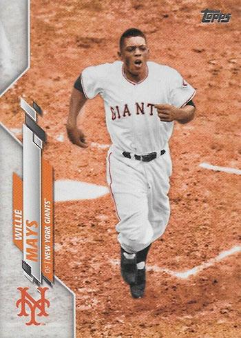 2020 Topps Series 2 Baseball Variations Willie Mays SSP