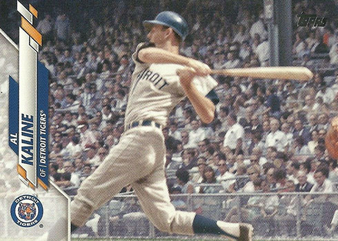 2020 Topps Series 2 Baseball Variations Al Kaline