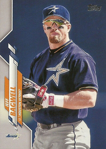 2020 Topps Series 2 Baseball Variations Jeff Bagwell